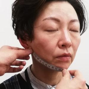 【画像あり】1回の小顔矯正施術で右あごの長さ1cm減!Eさん/50歳